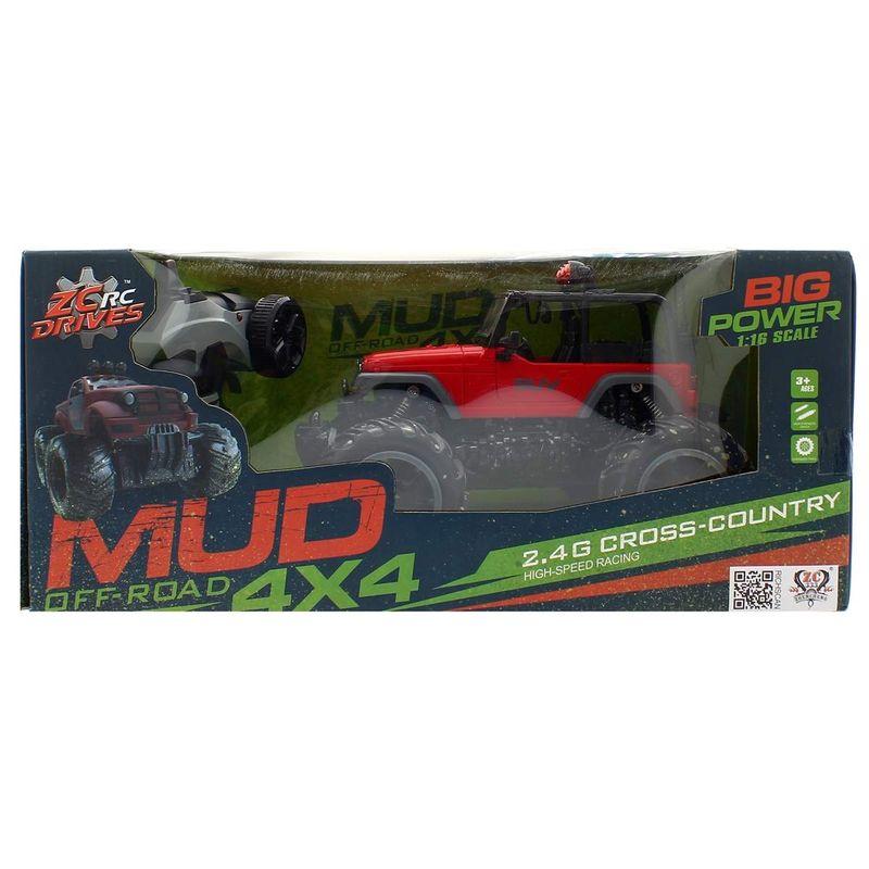 Coche-4x4-Mud-Off--Road-Rojo-a-Escala-1-16-R-C_3