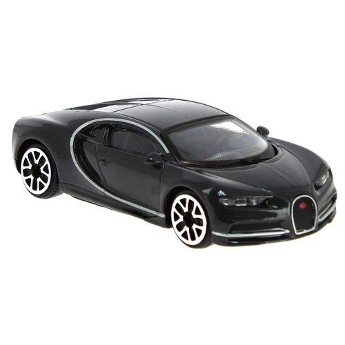 Coche Miniatura Street Fire Bugatti Gris 1:43