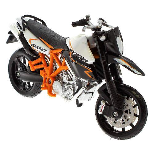 Moto Miniatura KTM 990 a Escala 1:18 Burago