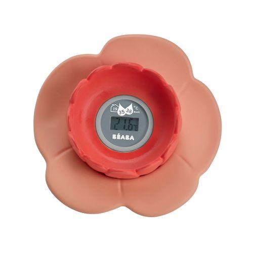 Termómetro Digital Baño Lotus Nude/Coral