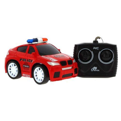 Coche Policía Rojo R/C 1:20