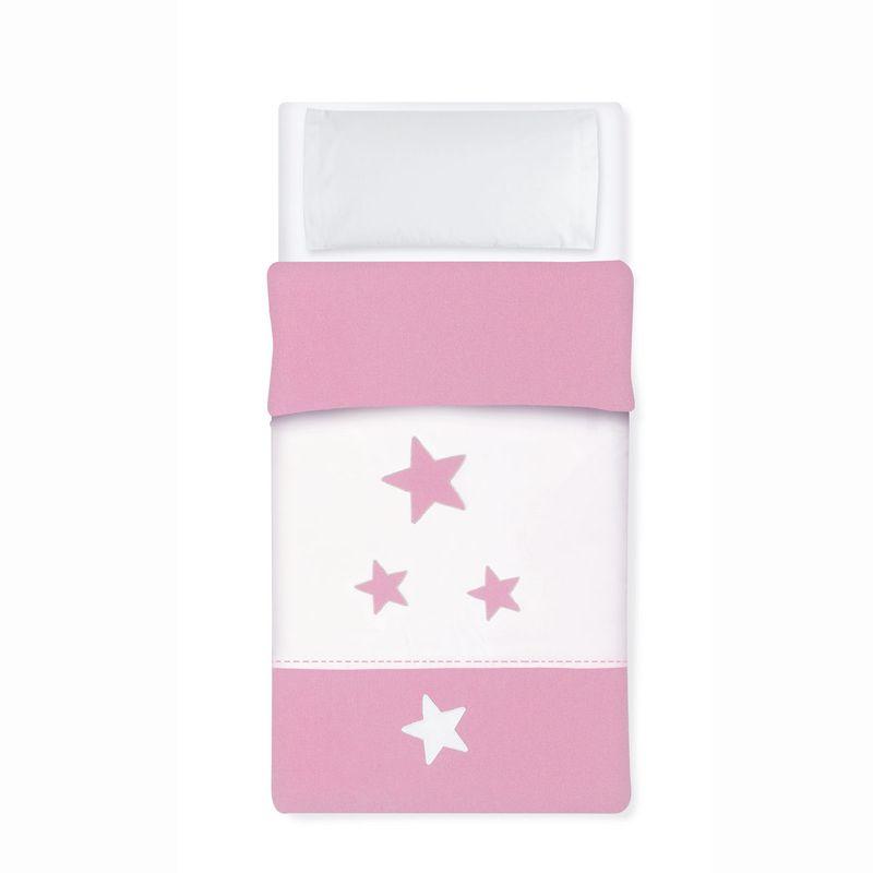 Saco-Nordico-para-cuna-60x120-Estrella-Rosa