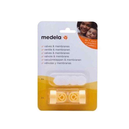 Pack de 2 Un. de Válvulas y 6 Membranas Medela