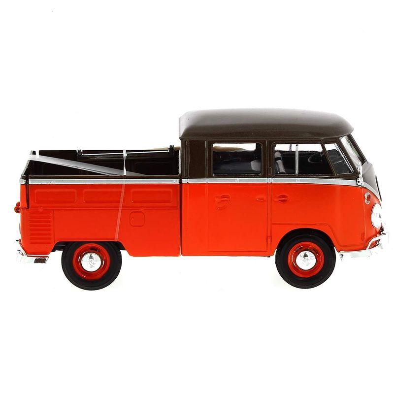 Miniatura-Volkswagen-Van-Marron-Naranja-Surf-1-24_1