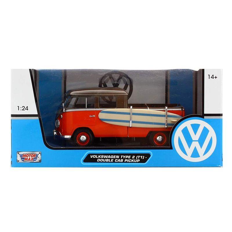 Miniatura-Volkswagen-Van-Marron-Naranja-Surf-1-24_3