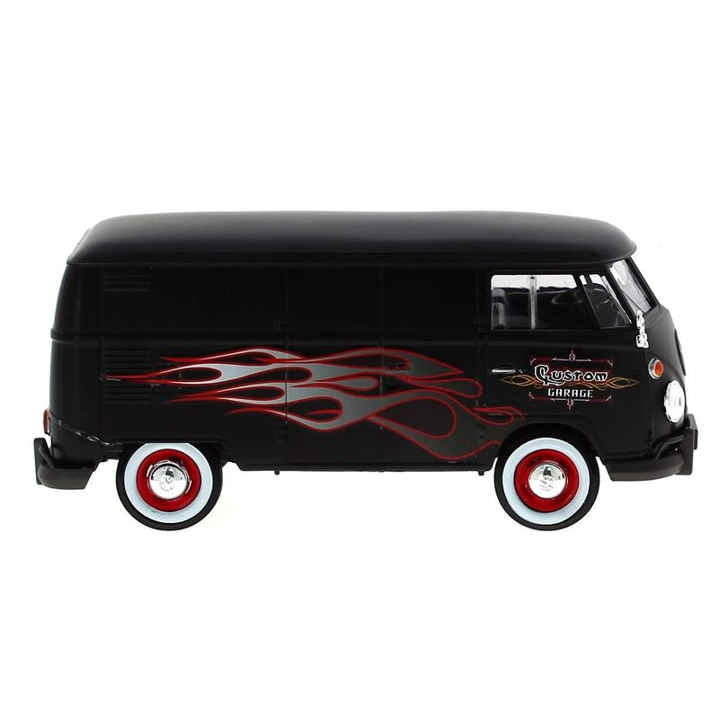 Mniatura-Volkswagen-Van-Negra-Llamas-1-24_1
