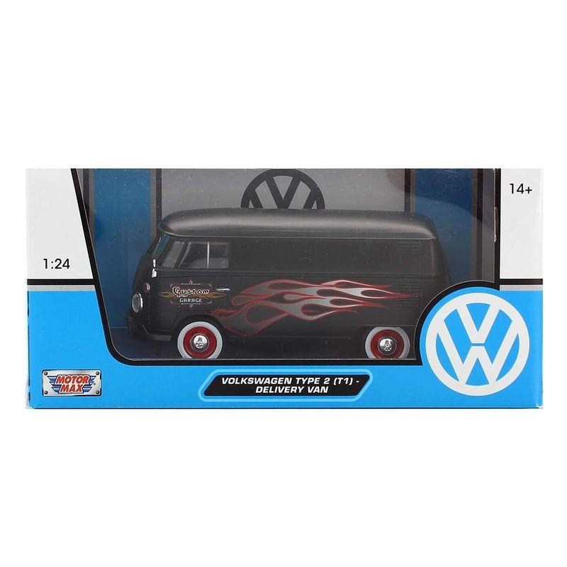 Mniatura-Volkswagen-Van-Negra-Llamas-1-24_2