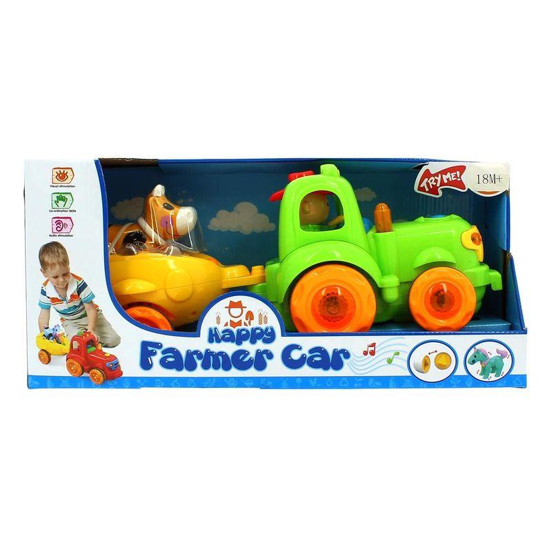 Tractor-Infantil-Musical-Verde