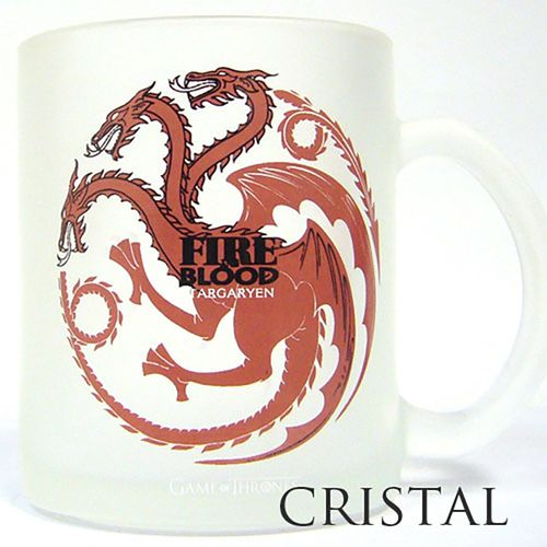 Taza Vidrio Targaryen Game Of Thrones