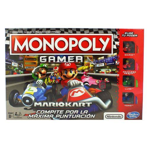 Juego Monopoly Edición Gamer Mario Kart