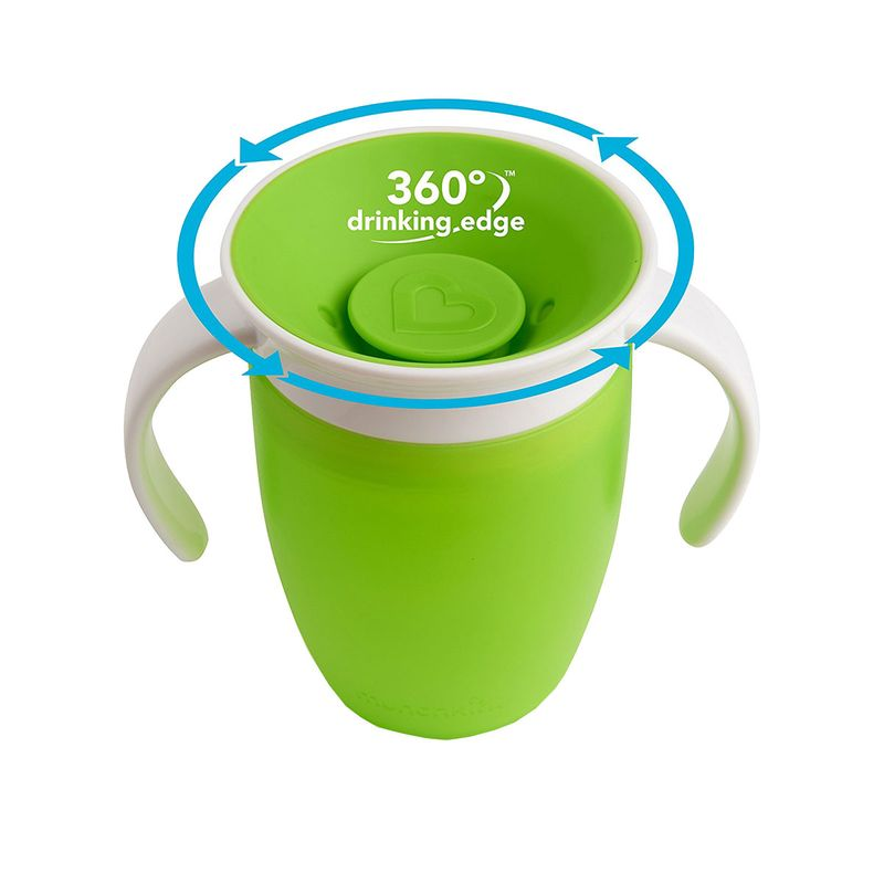 Munchkin-Taza-360-º-con-asas-207ml-verde_1