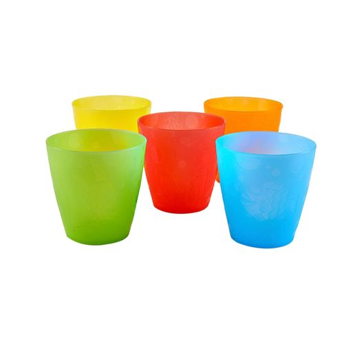 Lote 5 Vasos de colores