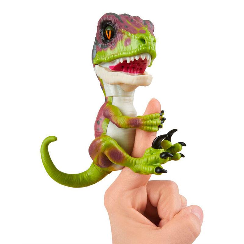 Fingerlings-Velociraptor-Verde