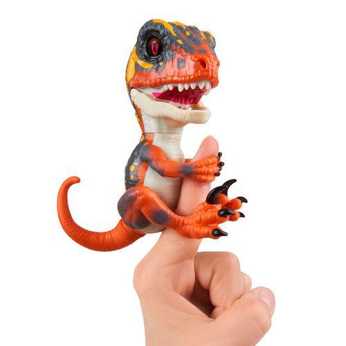 Fingerling Velociraptor Naranja