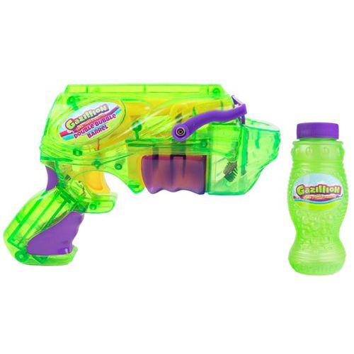 Gazillion Pistola de Burbujas Doble