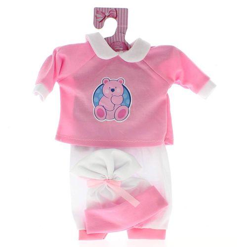 Ropita Bebé Pijama Rosa Osito