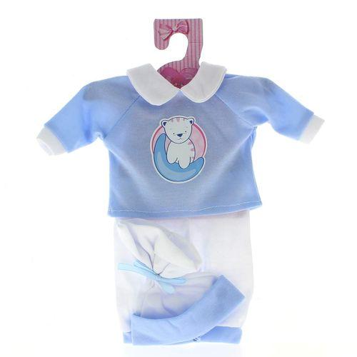 Ropita Bebé Pijama Azul Gatito