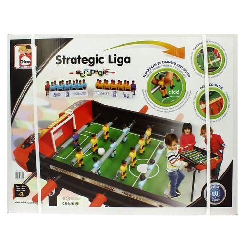 Futbolín varillas Estrategic