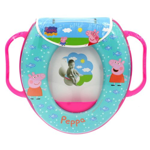 Reductor WC con asas Peppa Pig