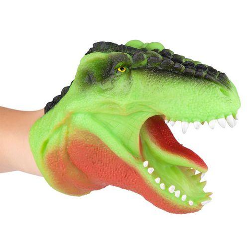 Dino World Títere Verde