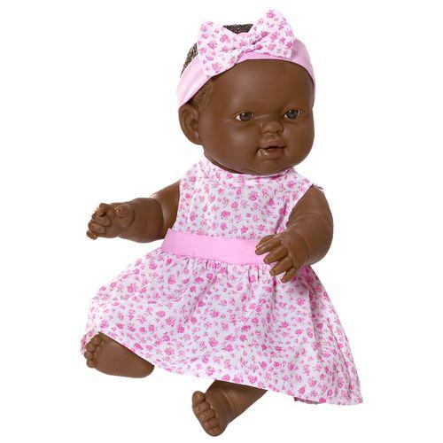 Muñeca Bebé Gordita Negrita