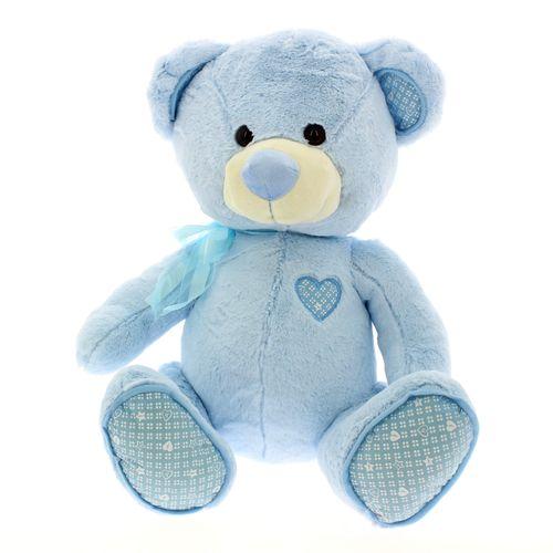 Oso Peluche 50 cm Azul