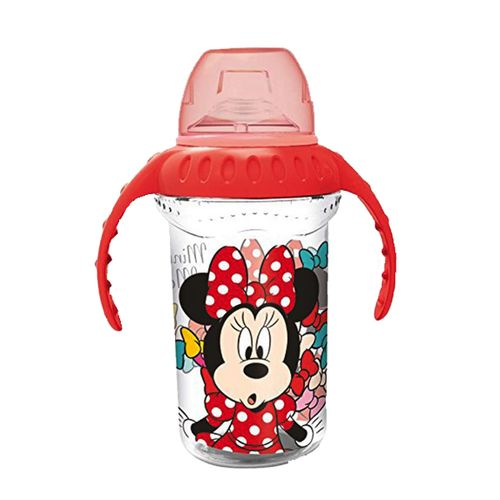 Taza con Asas de Silicona 330 Ml Minnie