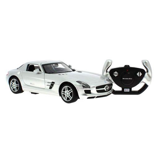 Coche Mercedes Benz SLS AMG Gris R/C 1:14