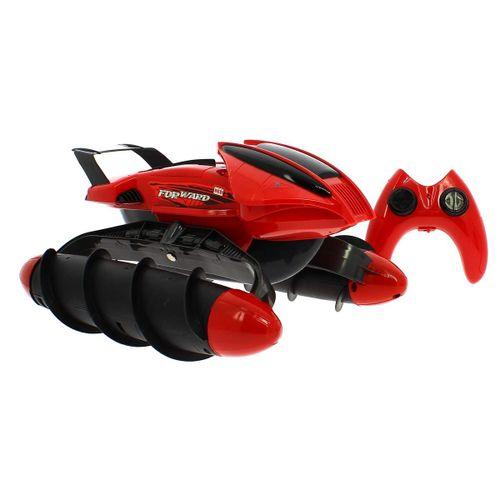 Vehiculo R/C Anfibio Rojo