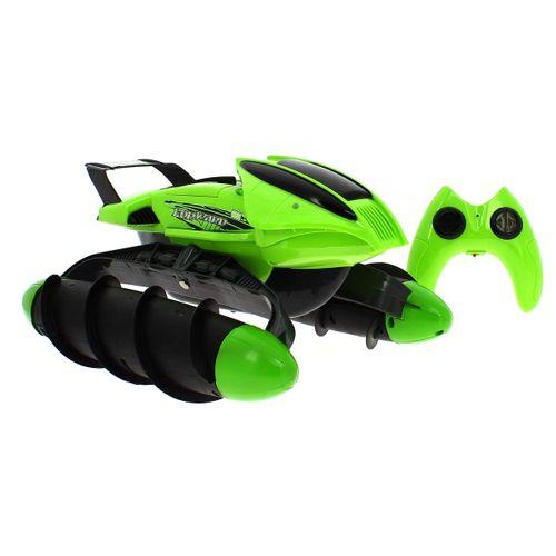 Vehiculo R/C Anfibio Verde