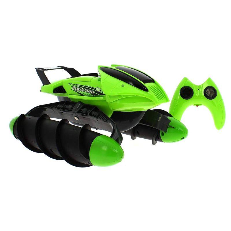 Vehiculo-RC-Anfibio-Verde