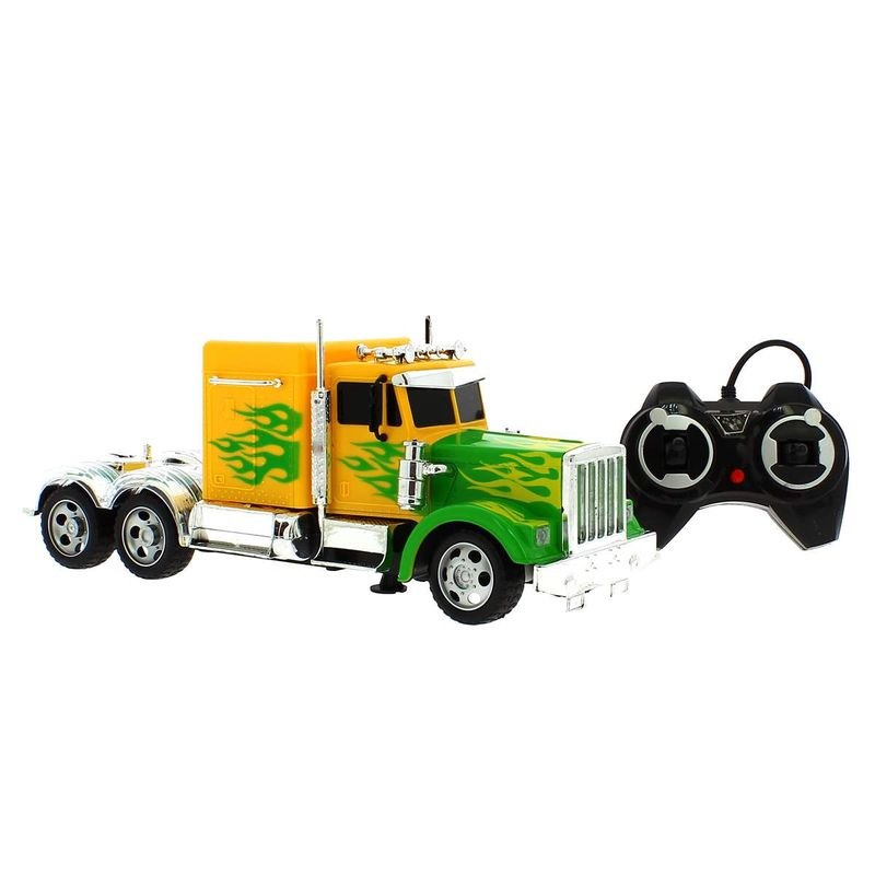 Camion-Americano-Amarillo-R-C