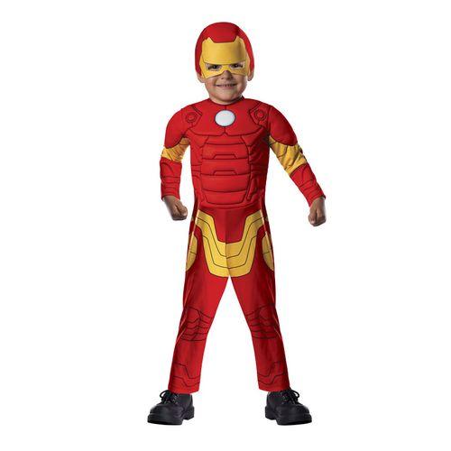 Iron Man Disfraz Acolchado Infantil