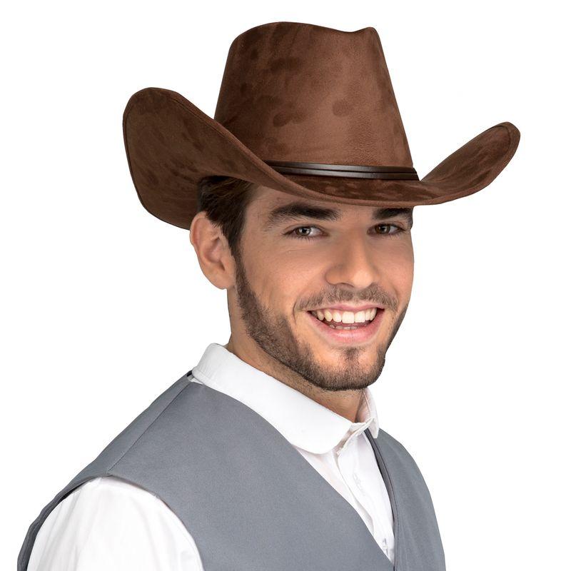 Sombrero-Vaquero-Marron-Oscuro