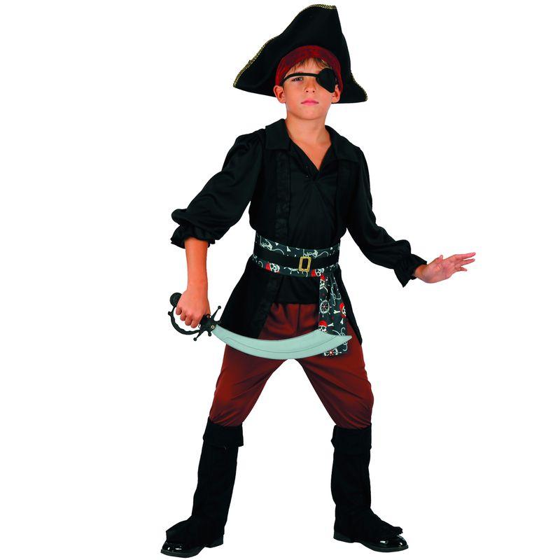 Disfraz-Pirata-Negro-Niño