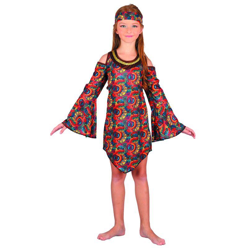 Disfraz-Hippie-Niña