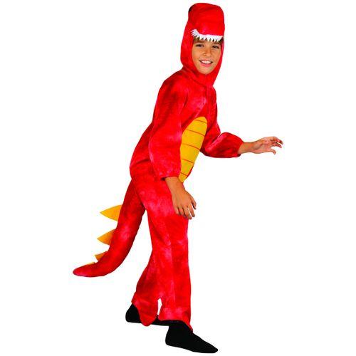 Disfraz Dinosaurio Rojo Niño