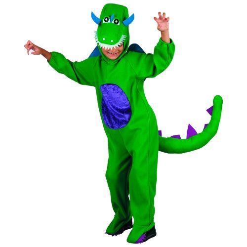 Disfraz Dinosaurio Verde Niño