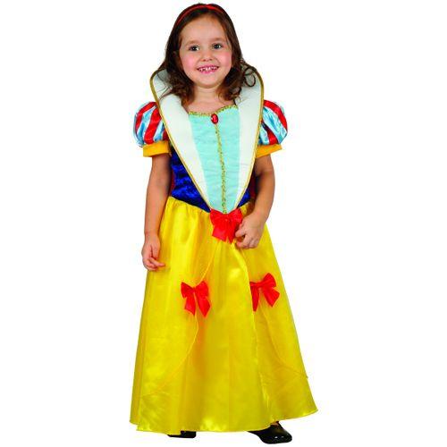 Disfraz Princesa Blanca Niña