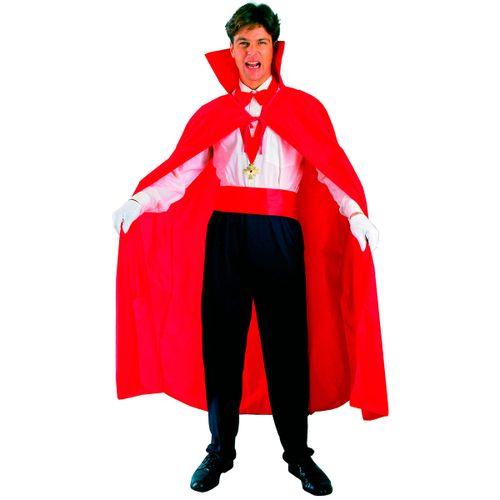 Capa Roja Vampiro Hombre