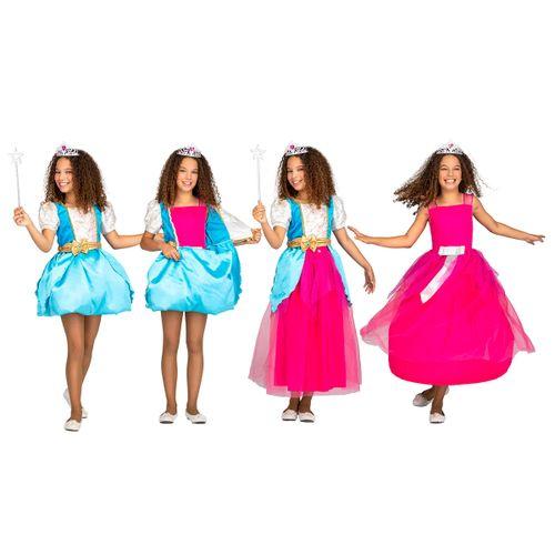 Disfraz Princesa Mágica 4 en 1