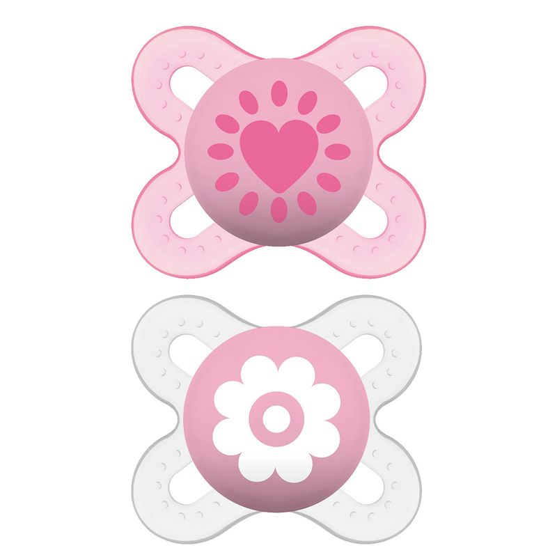 Pack-2-Chupetes-Start-Silicona-0-2-Meses-Rosa