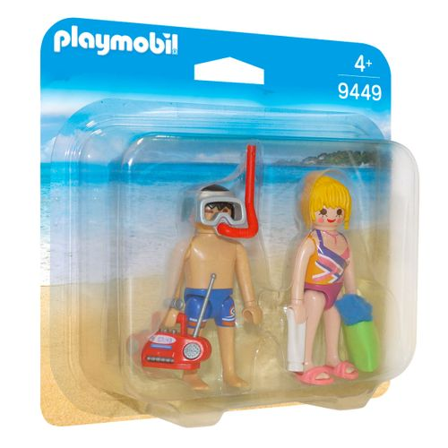Playmobil Pack Figuras Playa