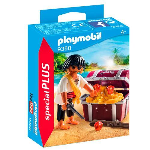 Playmobil Special Plus Pirata con Cofre