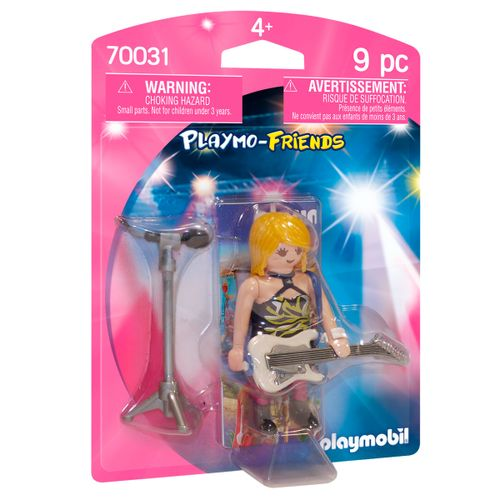 Playmobil Playmo-Friends Estrella del Rock