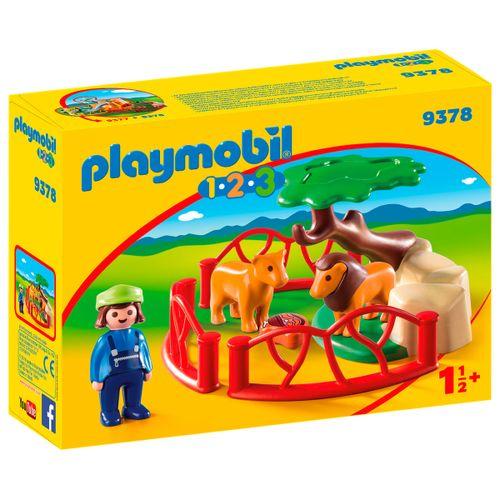 Playmobil 1.2.3 Recinto de Leones