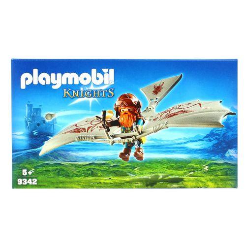 Playmobil Knights Gnomo con Máquina Voladora
