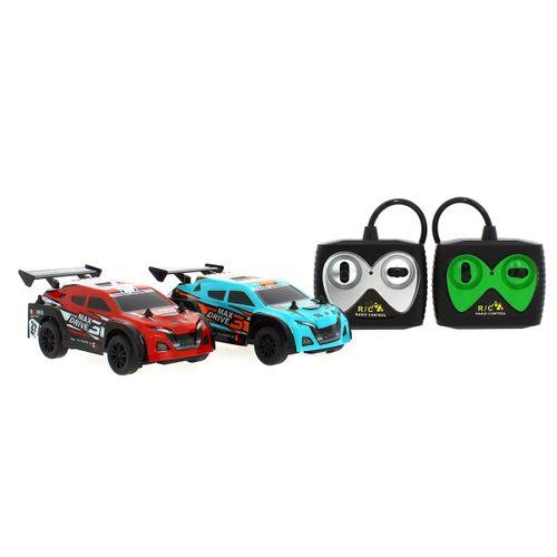 Set de Coches  R/C Rally Monster 1:26