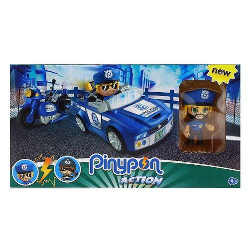 Pinypon Action Vehículo de Policía