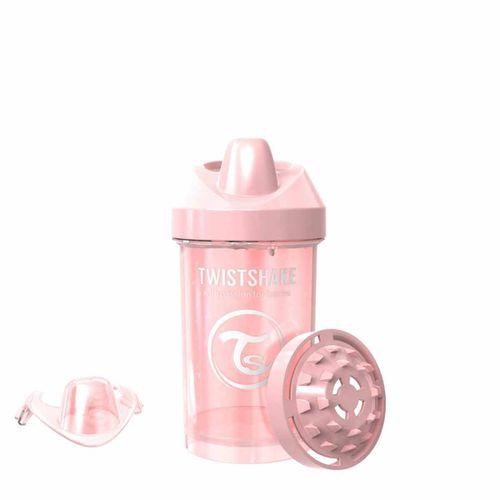 Taza Crawler Cup 300 Ml +8 Meses Rosa Pastel